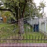 Artystyczne ogrodzenie | Widok frontalny | Fabro
