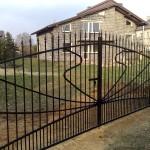 Artystyczna brama wjazdowa | Fabro