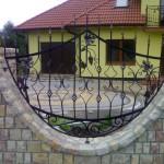 Realizacja artystycznego ogrodzenia kutego | Fabro