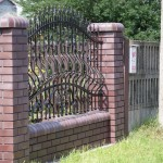 Ogrodzenie z cegły klinkierowej | Fabro