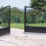 Brama wjazdowa otwarta | Fabro