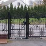 Kute ogrodzenie, furtka i brama wjazdowa | Fabro