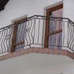 Balustrada balkonowa | Widok z boku | Fabro