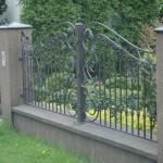 Ogrodzenie i brama kuta | Fabro