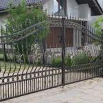 Artystyczna brama kuta | Fabro