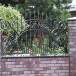 Ogrodzenie z cełgy klinkierowej | Fidok frontalny | Fabro