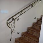 Artystyczna balustrada przy schodach | Fabro